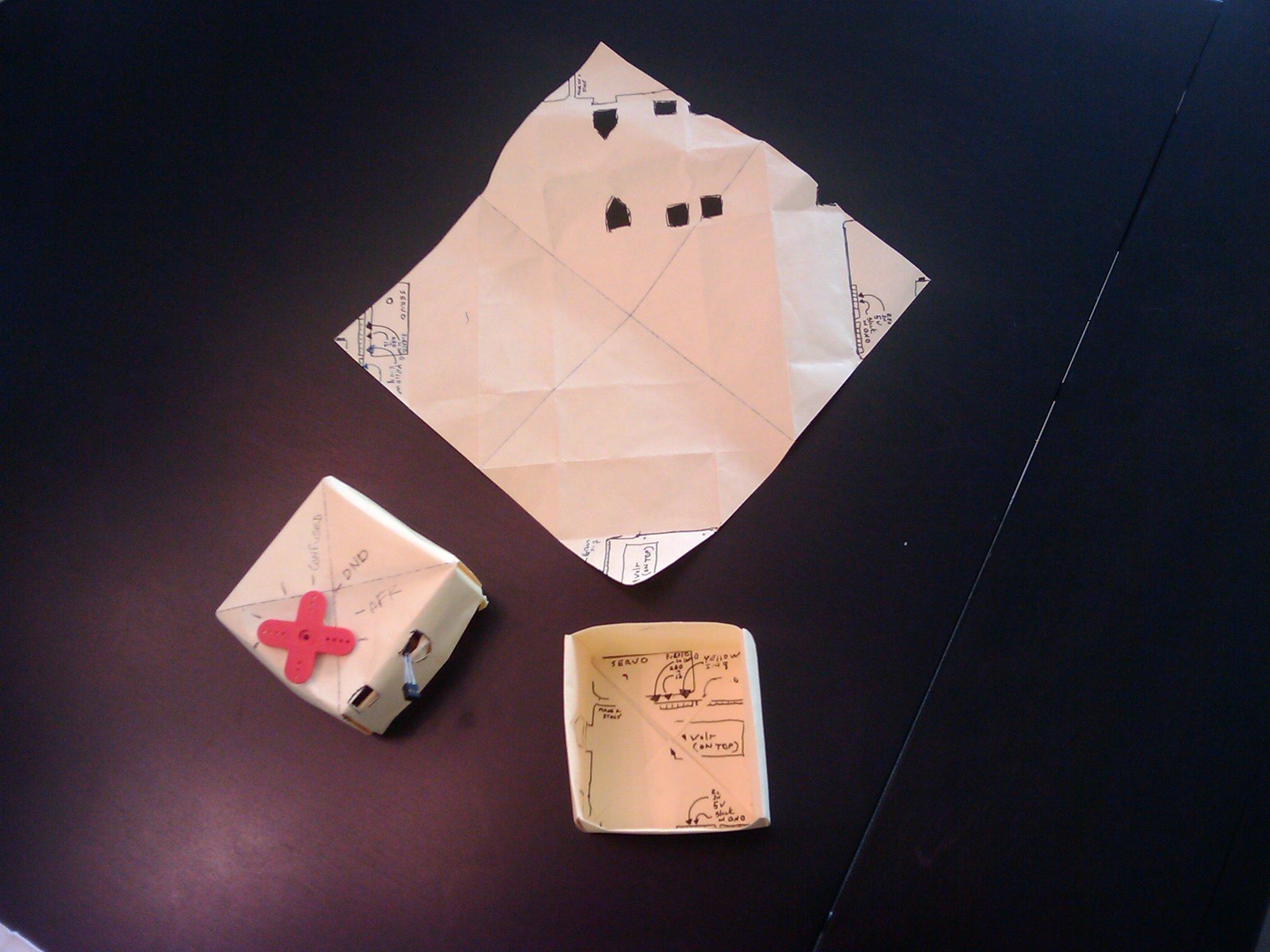 Three arduino boxes