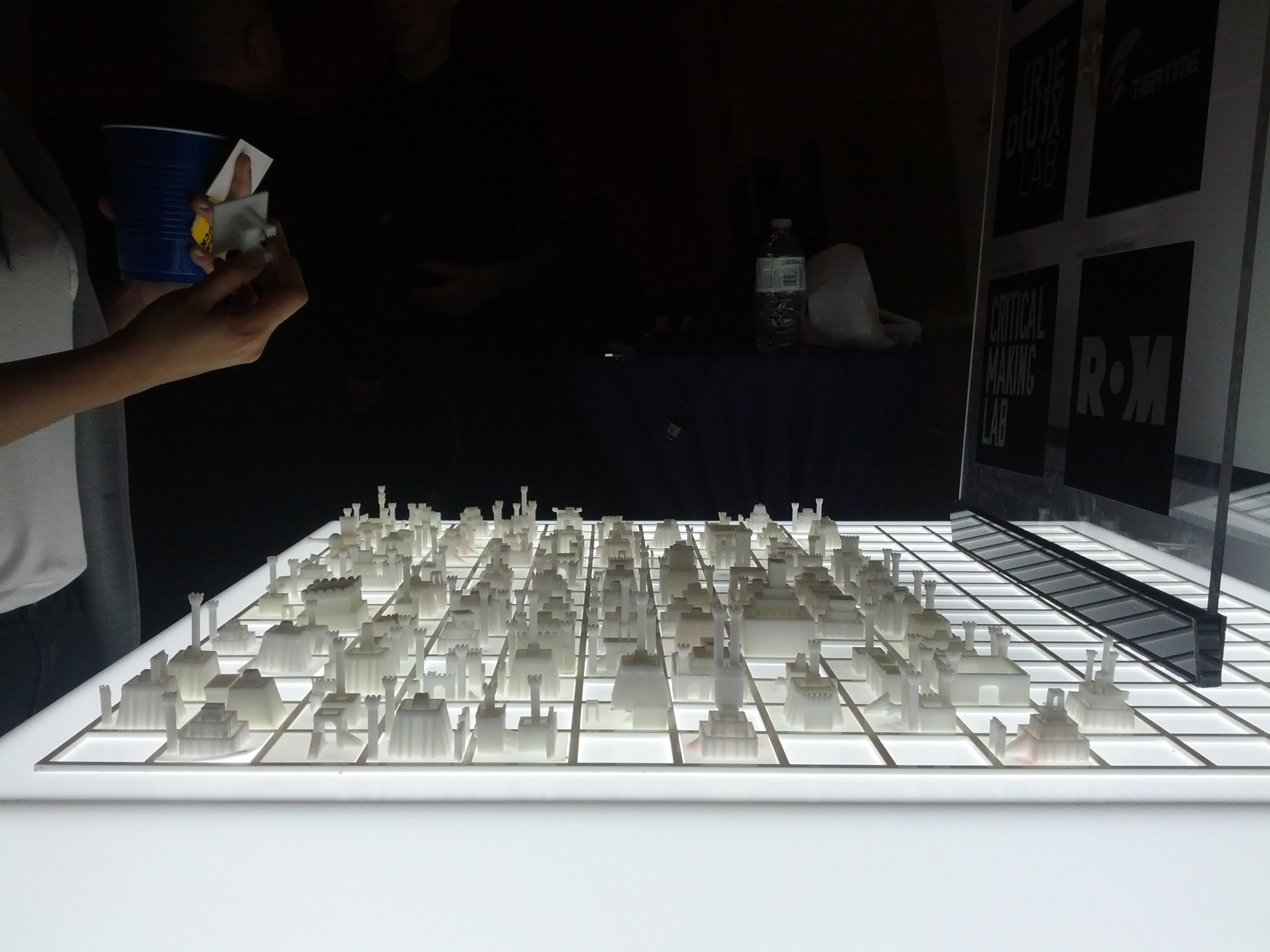 What the city looked like as we neared completion of the 4-week run at the Royal Ontario Museum.